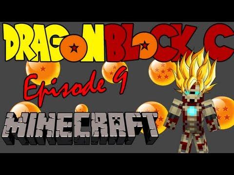 DBZ Minecraft - Fighting Vegeta and Nappa and Preparing for Namek! (Dragon Block C) - Episode 9