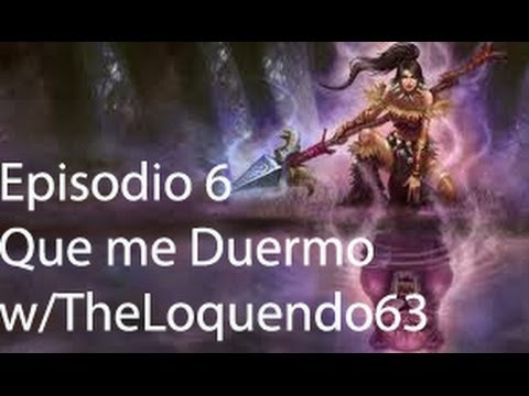 [LIVE]---League of Legends ---- EP#6------NIDALEE Supp?-------!Que me Duermo!  ----- w/Theloquendo63