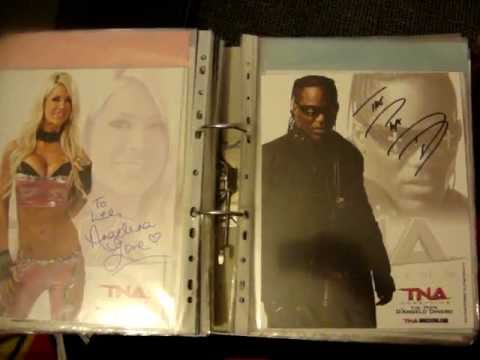 My TNA autographs