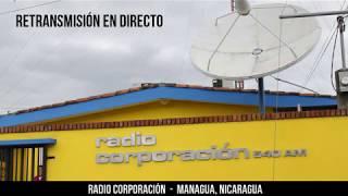 Retransmisión en directo de Radio Corporación. #Nicaragua