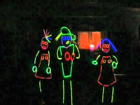Glow Sticks Dance Glow Stick Dance Die