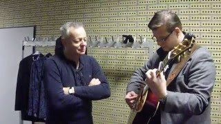Sultans of Swing - Dire Straits / acoustic cover / (Backstage with Tommy Emmanuel)