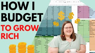 How I reconcile and close my budgets - In Real Time! + February Budget Report!