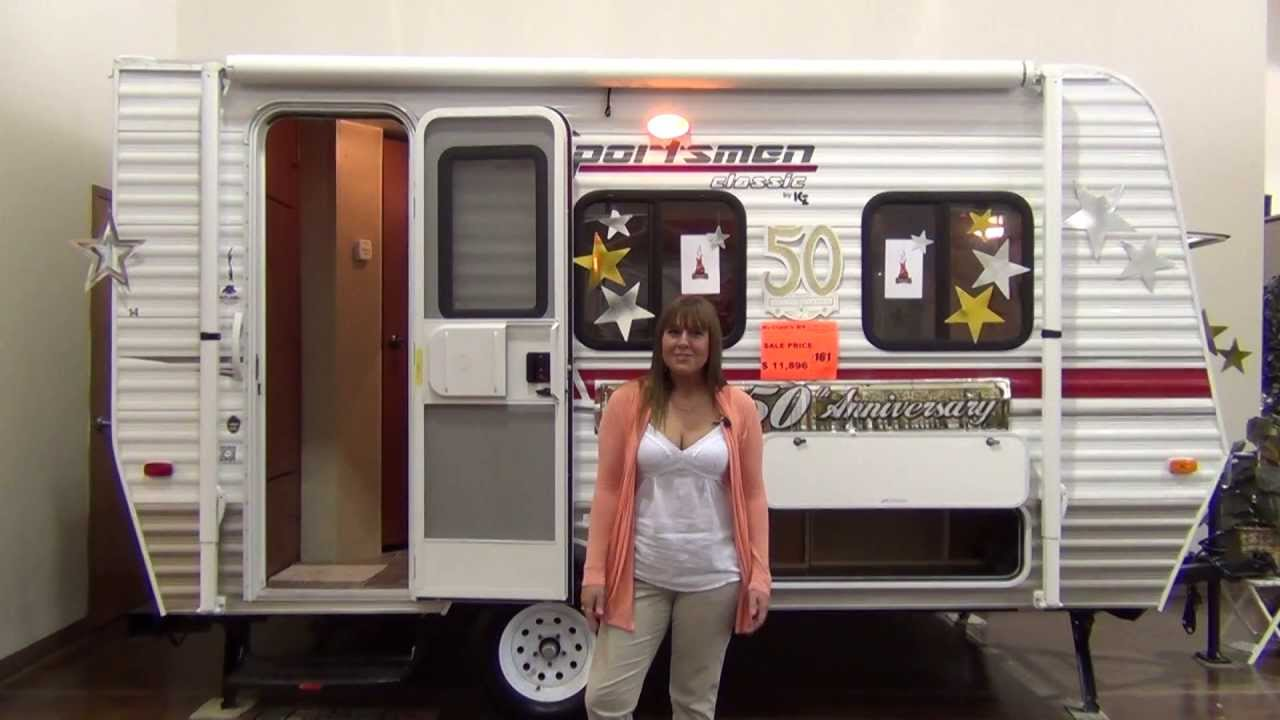 Sportsmen classic 14rb by kz rv youtube for 13 floor trailer