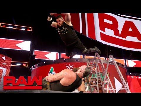 Braun Strowman vs. Finn Bálor vs. Bobby Roode vs. Kevin Owens - Fatal 4-Way: Raw, June 11, 2018 thumbnail