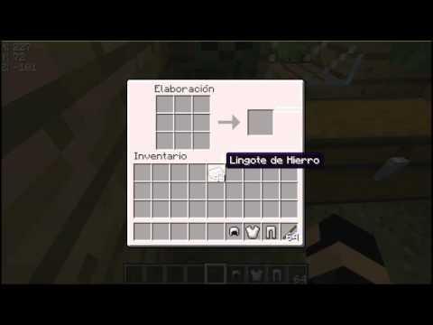 Como Hacer Armadura Completa y Armas en Minecraft 1.5.2/1.6.2/1.7.2 [cosas basicas]
