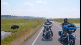 16-Day Ride: Canada and Yellowstone Motorcycle Tour