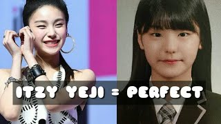 Itzy Yeji being PERFECT