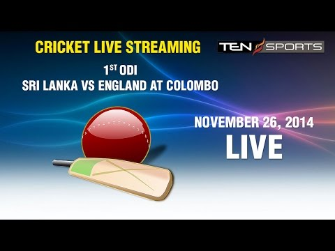 CRICKET LIVE STREAMING: 1st ODI - Sri Lanka v/s England, Colombo