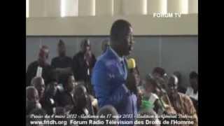 Procès du 4 mars 2012: Audition de Norbert Dabira - Le 17-08-2013