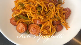 "Keto Island ???????? Style Spaghetti! ""Real NOODLES"" Quick, Easy, & Flavorful LOW CARB! Comfort Food"