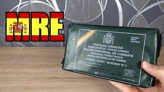 Was ist in diesem spanischen Militär Essen Paket? 😳 (meal ready to eat)
