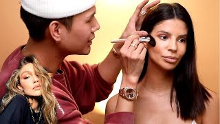 GIGI HADIDS MAKEUP ARTIST PATRICK TA TEACHES ME HOW TO DO MAKEUP! tips & tricks!
