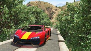 FOREST SKY BATTLE RAMPS! (GTA 5 Online)