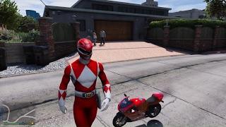 GTA 5 - Chạy xe ôm dạo cùng siêu nhân Gao và những pha té dập mặt | ND Gaming