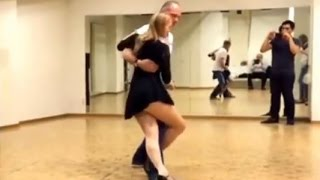 Learn Kizomba, basic, intermediate, advanced steps | Nadine & Martin (Belarus/Switzerland)