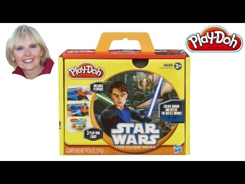 ♥♥ Play-Doh Star Wars The Clone Wars Play Set