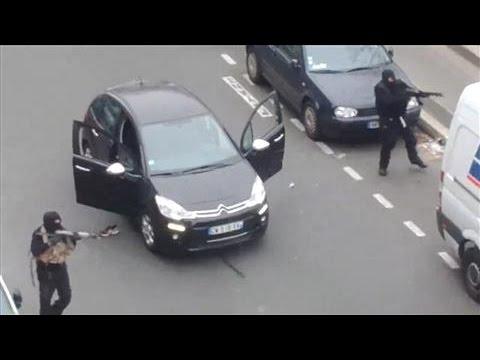 Masked Gunmen Kill French Policeman