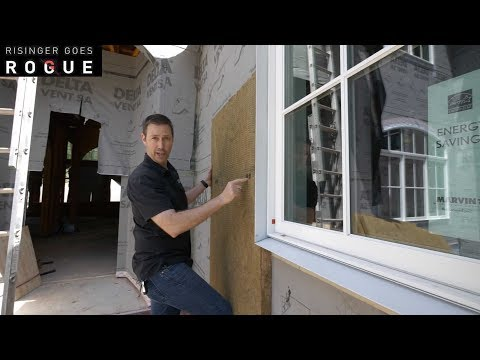 Simple trick to Exterior Insulation and Window Depth