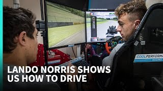 'He's going to spin again!' - Simulator tips with 2019 F1 driver Lando Norris