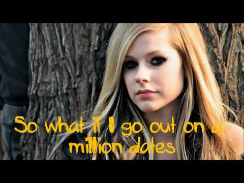Avril Lavigne - What The Hell [lyrics On Screen] Hd video