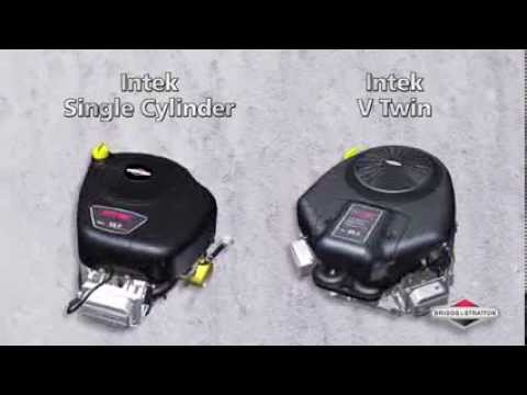 Intek Series Single Cylinder and V-Twin Engines