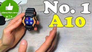 ✔ No.1 A10 - Первые Защищенные Смарт Часы от No.1!