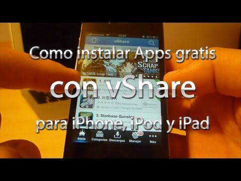 Instalar Apps gratis con vShare (iPhone/iPod/iPad)