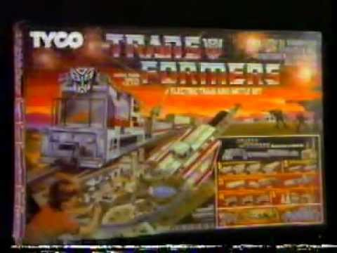 1985 Transformers Electric Train Battle Set Commercial
