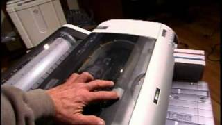 Clear Nozzle Clog and change cutting blade on Epson Printers