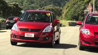 Drive: How to reverse parallel park