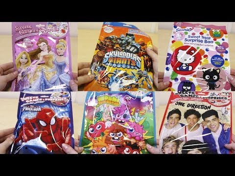 Surprise Lucky Bags - One Direction, Disney Princess, Hello Kitty, Moshi Monsters