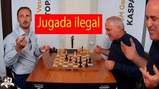 Kasparov se QUEJA: Topalov VS Kasparov Champions Showdown Ronda 5   Fischer Random ( chess960)