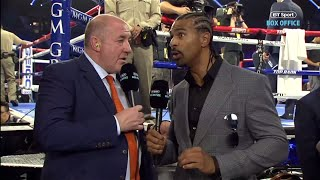 """Schwarz's face was messed up!"" David Haye breaks down a new improved Tyson Fury"