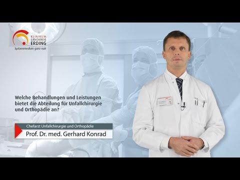 Unfallchirurgie und Orthopädie im Klinikum Landkreis Erding