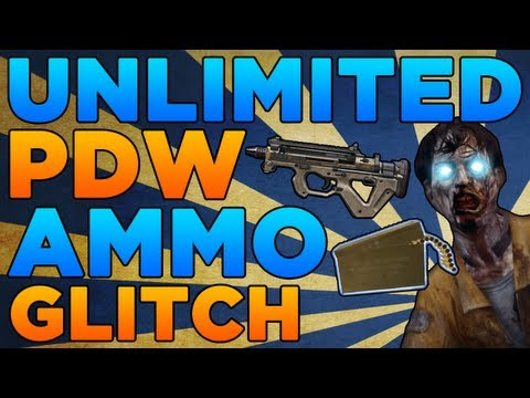 Black Ops 2 Zombies Glitches: Unlimited Ammo Glitch for the PDW!