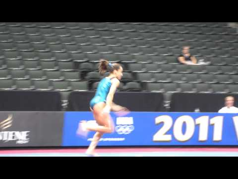 Jordyn Wieber - 2011 Visa Championships Podium Training - Vault