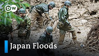 At least 50 dead in Japan flash floods | DW News