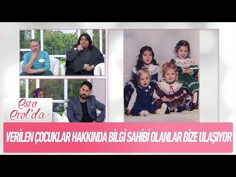 Verilen çocuklar hakkında bilgi sahibi olanlar ulaşmaya devam ediyor - Esra Erol'da 27 Aralık 2017