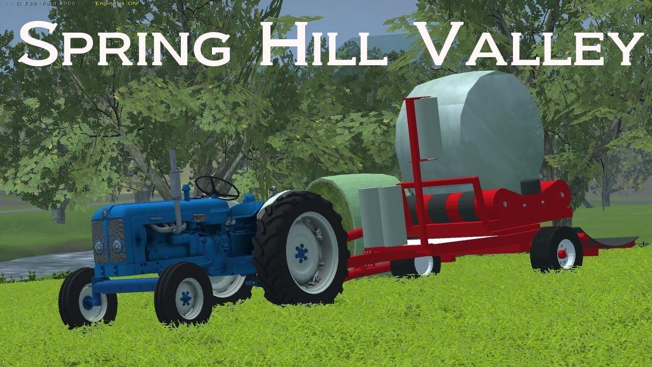 Farming Simulator 2013 Spring Hill Valley Ep 1 Youtube