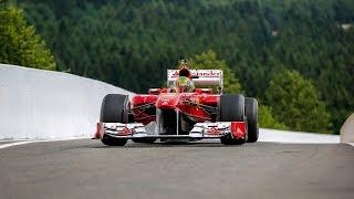 Ferrari Formula 1 Corse Clienti - PURE V8 & V10 ENGINE SOUNDS !