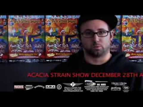 The Acacia Strain DVD shoot commercial