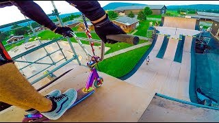 BMX Scooter VS. MEGA Ramp!
