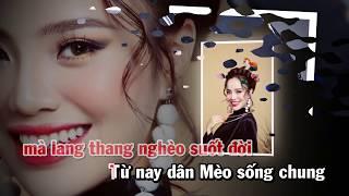 NGƯỜI MÈO ƠN ĐẢNG [Karaoke Beat] | SÈN HOÀNG MỸ LAM