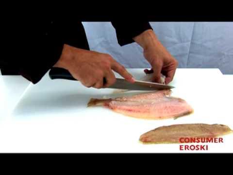 T cnicas b sicas de cocina cortar pescado en paupieta - Tecnicas basicas de cocina ...