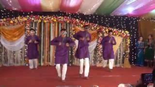 Dhakar Pola Holud Dance Performance