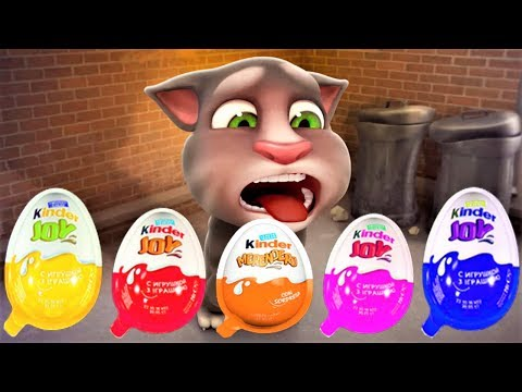 Talking Tom and Friends Colors Reaction Compilation Cat and Dog Animals Funny Videos
