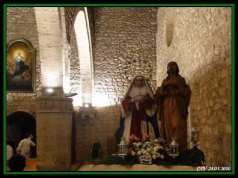 semana santa 2010 en campo de criptana. SEMANA SANTA 2010 (Traslado