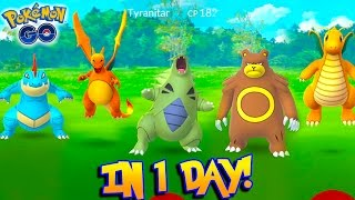 THE GREATEST DAY IN POKEMON GO HISTORY... AND I MISSED HALF OF IT! Wild Tyranitar, Dragonite & More!