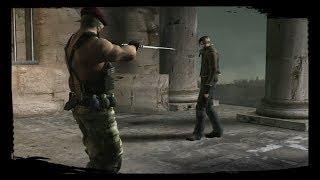 Resident Evil 4 / Lucha Contra Krauser Solo Cuchillo / Sin Daños (PROFESIONAL)